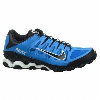 161ed264f293 Nike Men s Reax 8 TR Mesh Training Shoes (Blue White Black)