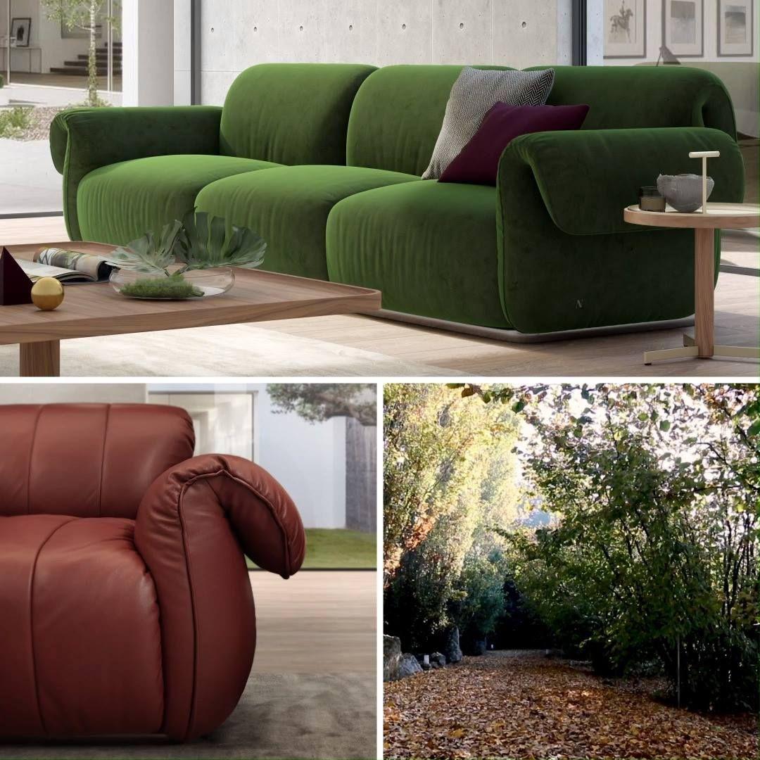 Natuzzi 观看 Icon Sofa Contemporary Designers Furniture Da