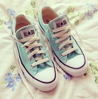 Converse, I love these this colour on converse ! | Shoes