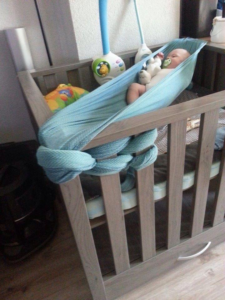 Hangmat In Box.Hangmat Van Draagdoek Nahen Baby Hangmat Draagdoek En Babykamer