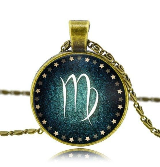 Beautiful bronze necklace with a zodiac pendant. A perfect gift for your friend who takes great pride in her zodiac sign. All zodiac signs available.  Get yours now for ONLY $12.95 + FREE SHIPPING! Order here: http://collectionoflovely.com/product/lovely-milky-way-zodiac-pendant-necklace/