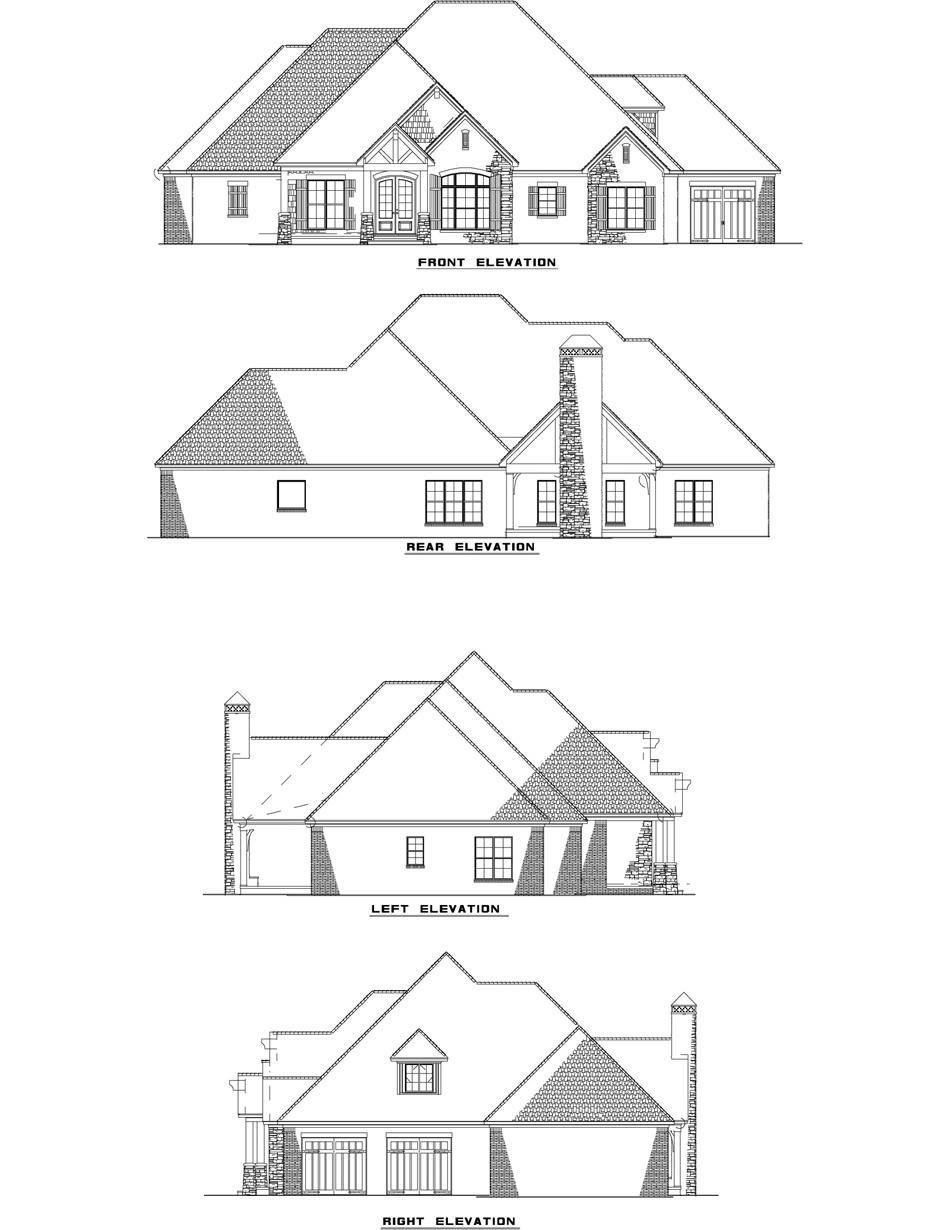 Rustic Ridge Collection | House Plan 1428 Timberland Cove | Ideas ...