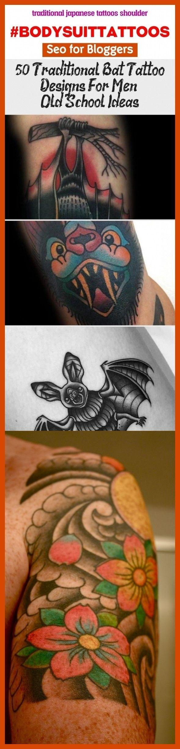 Traditional japanese tattoos shoulder