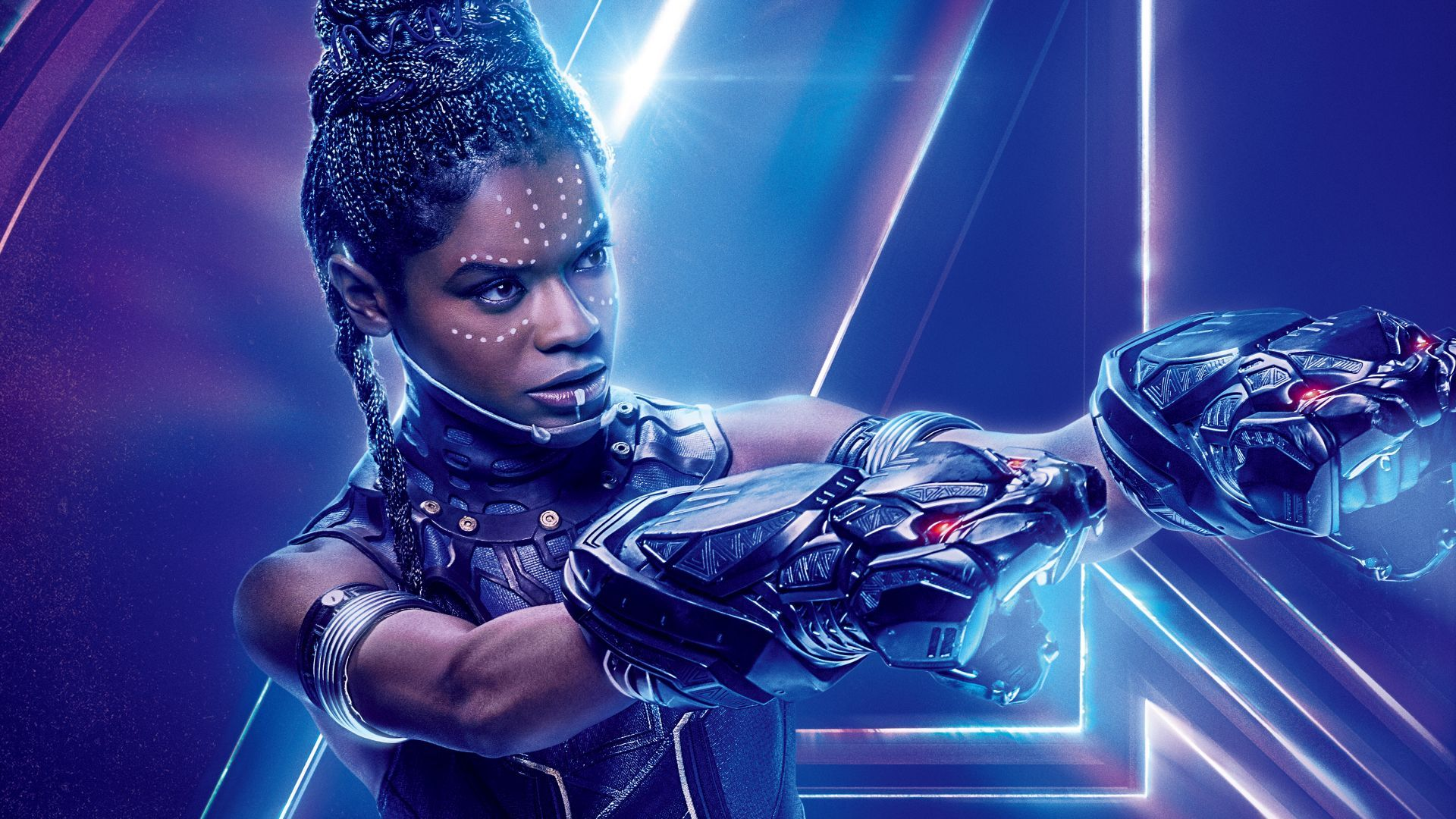 Download Wallpapers Of Avengers Infinity War Letitia Wright Shuri