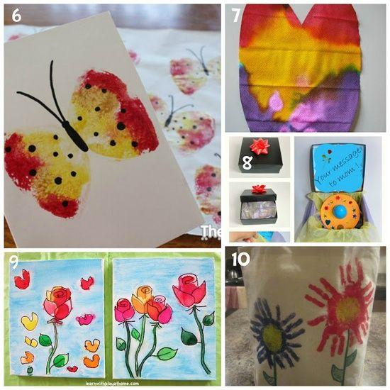 10 Kid-Made Gift #Summer Party| http://summerpartyideas931.blogspot.com