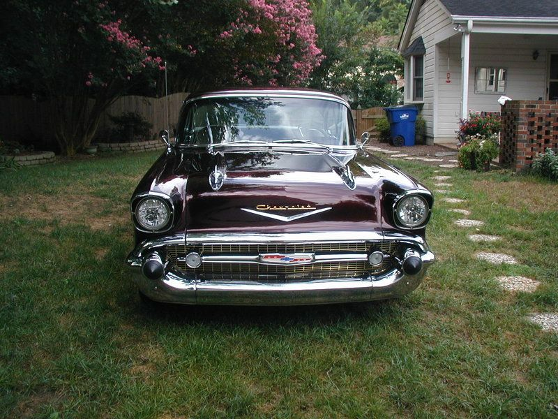 1957 Chevrolet Belair For Sale By Owner Raleigh Nc
