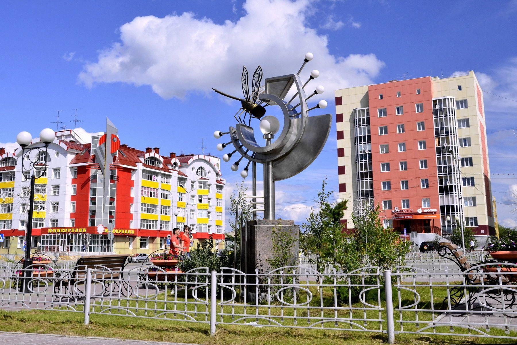 салехард фото города достопримечательности