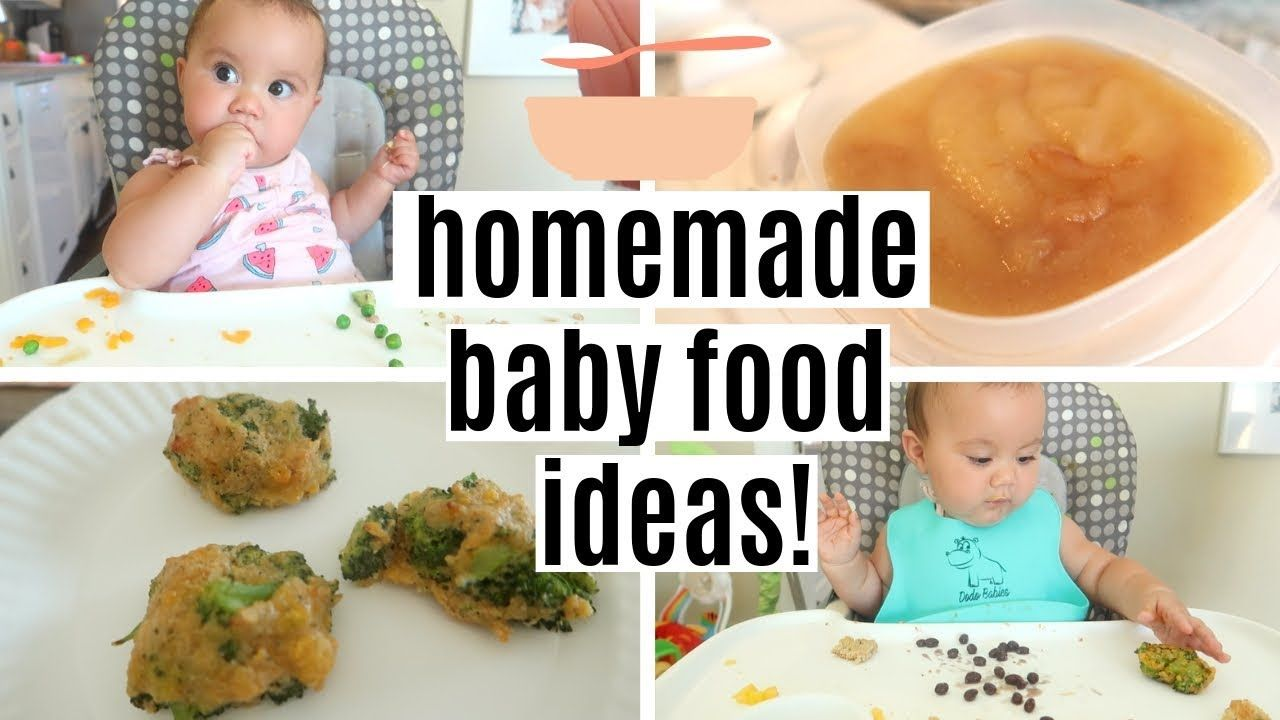 WHAT MY 9 MONTH OLD EATS IN A DAY | HOMEMADE BABY FOOD ...