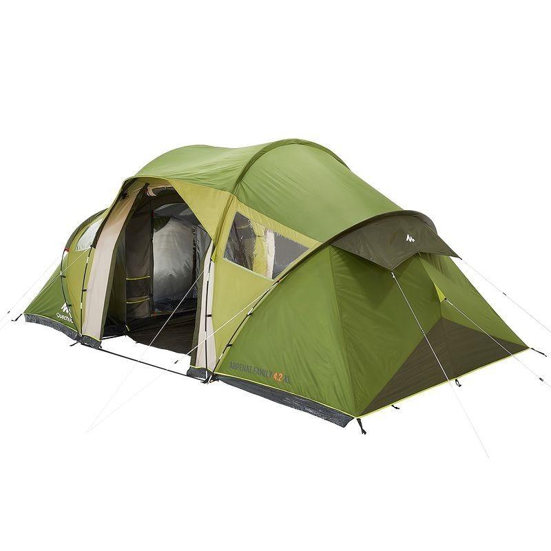 All Tents Arpenaz 4 2 Xl Family Tent 4 Man Tente Decathlon Camping En Tente Decathlon