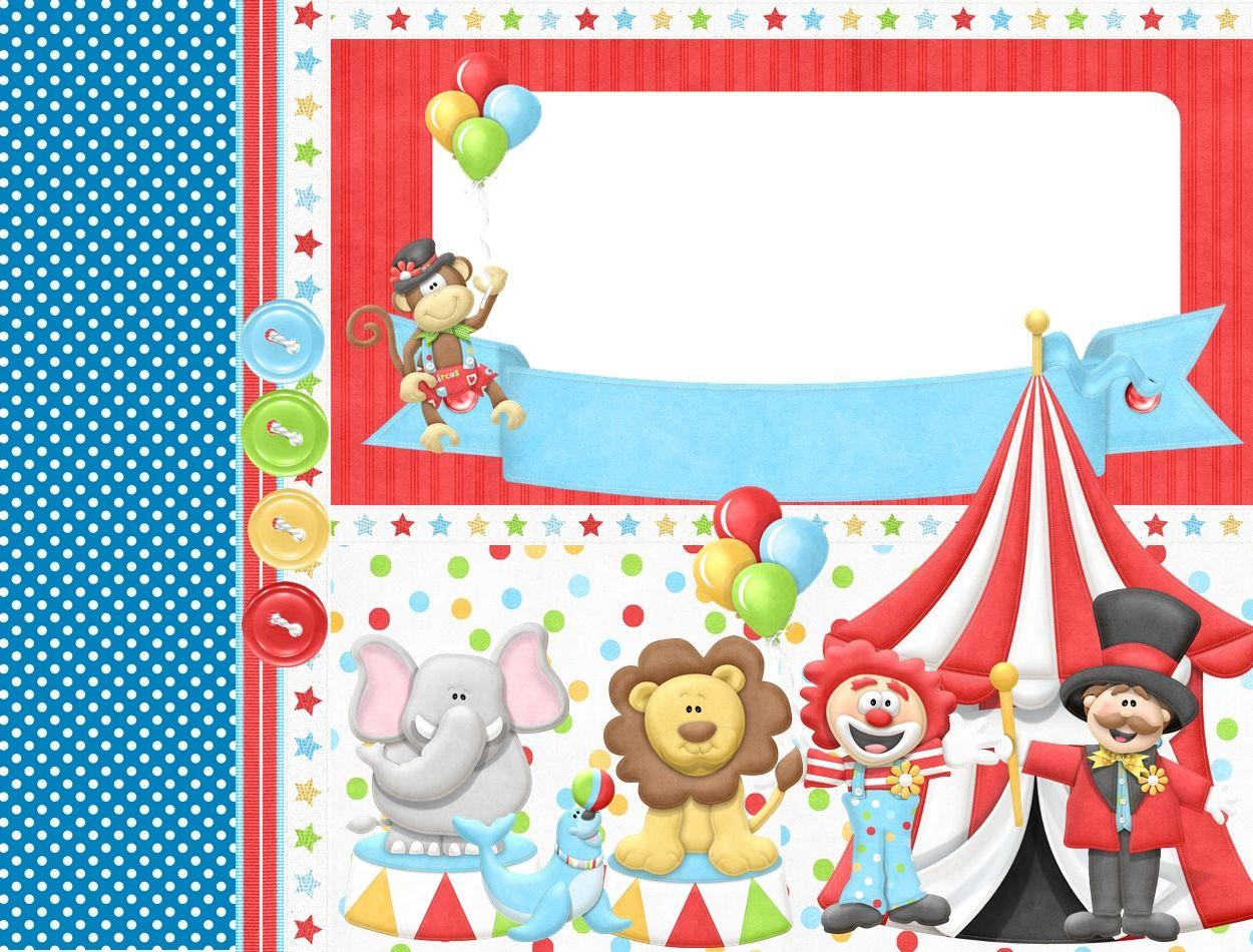 tag circo | Etiquetas, tag, tarjetas y más | Pinterest | Scrapbook ...