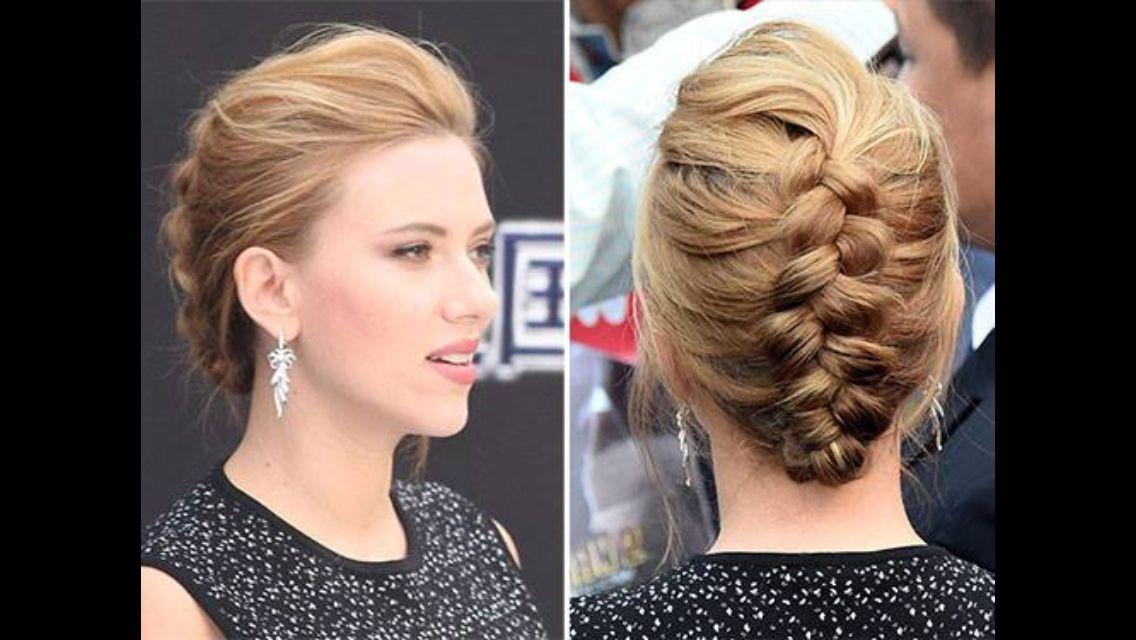 Nice updo for attending wedding. | Easy wedding guest hairstyles, Wedding guest hairstyles ...