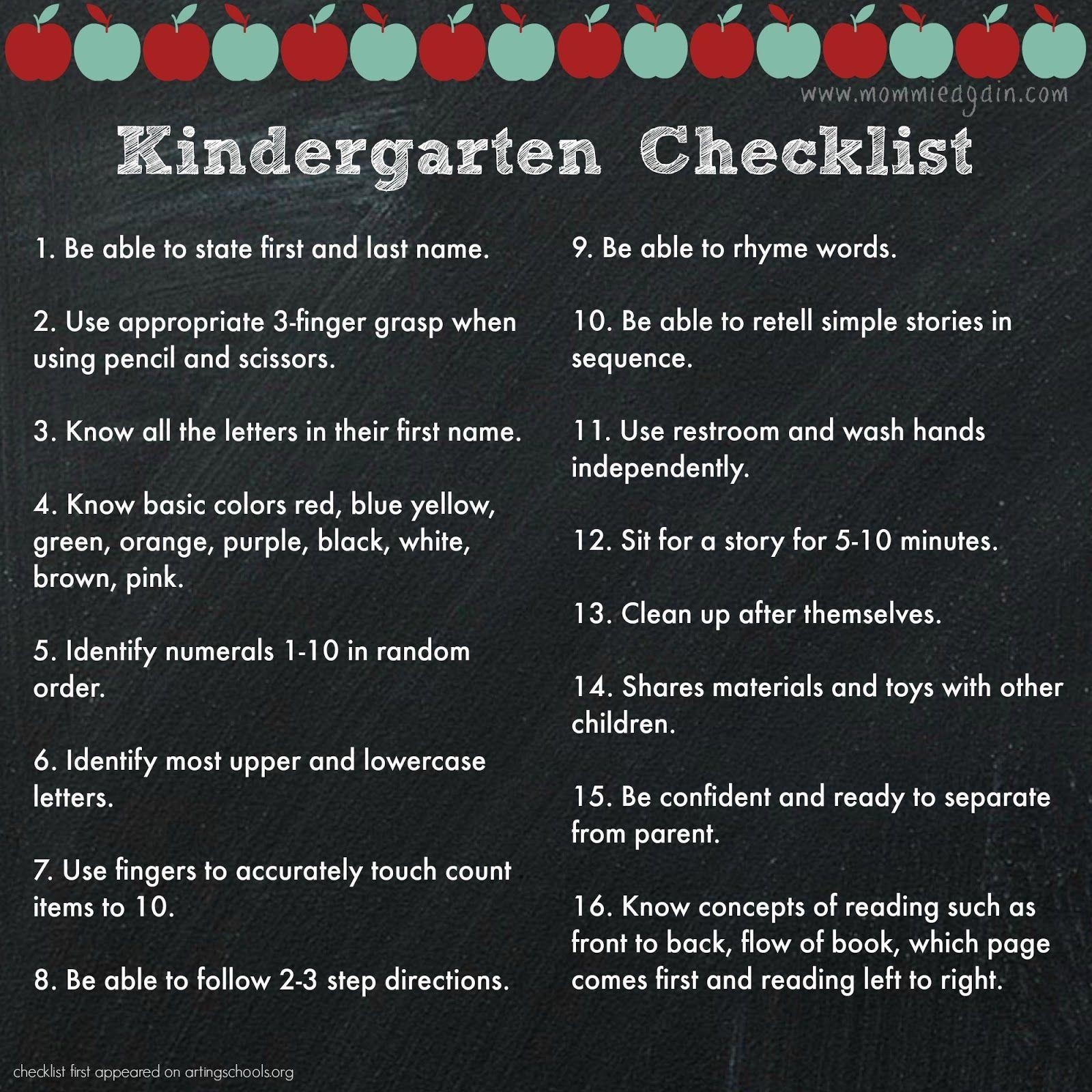 Worksheet Preparing Your Child For Kindergarten 1000 images about preschool assessments on pinterest assessment portfolio binder and assessment