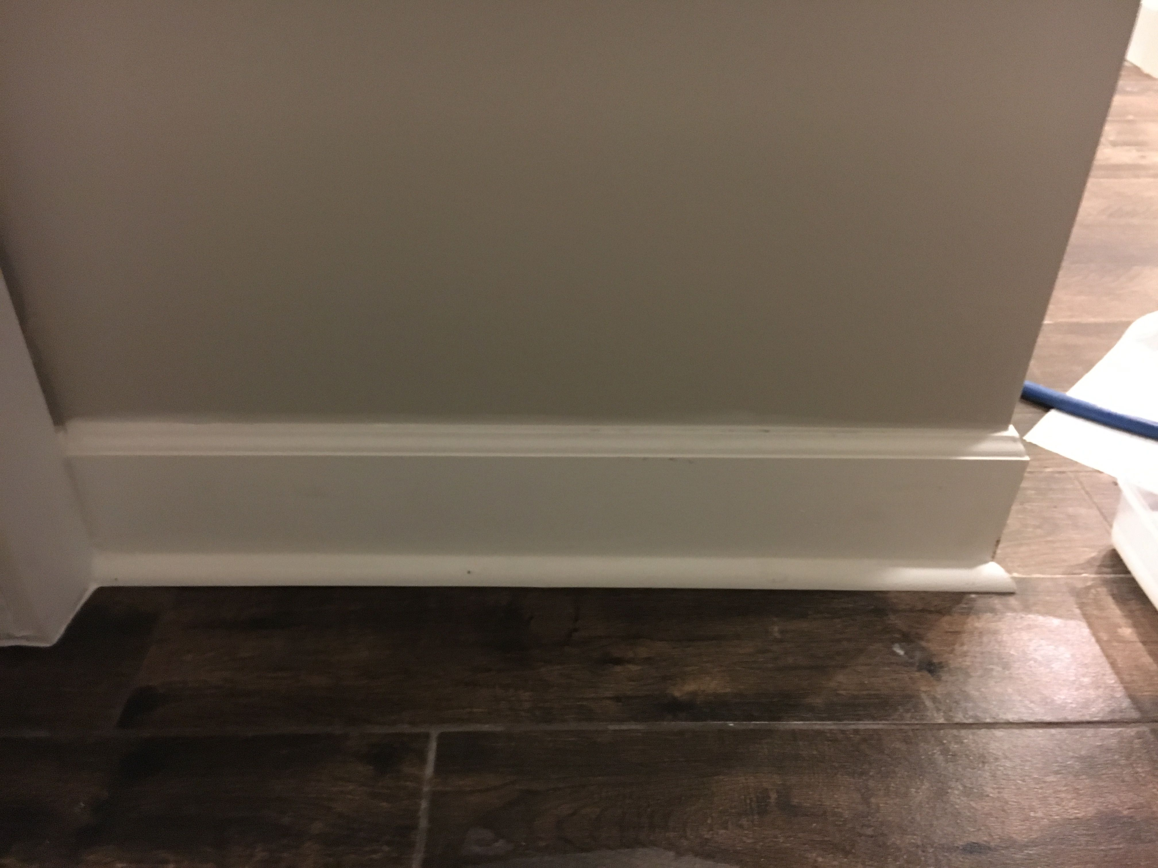 Shoe Molding Vs Quarter Round Baseboard With Quarter Round | Windows, Doors, And Trim