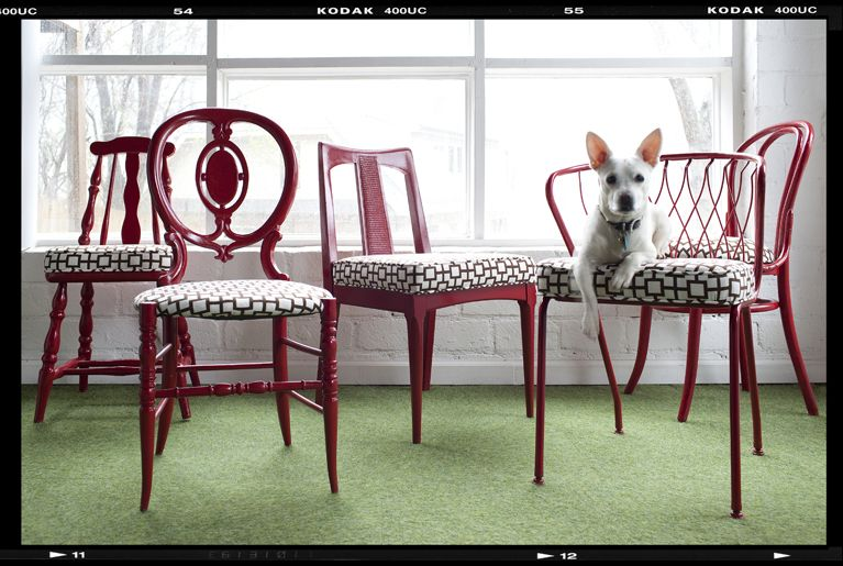 My Allure Lounge: Mix & Match Dining Chairs