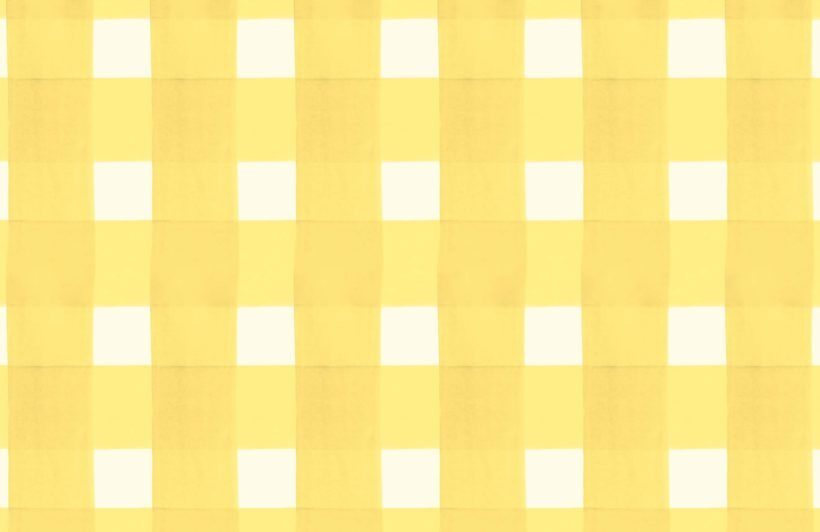 Yellow Gingham Wallpaper Mural Cute Patterns Wallpaper Yellow Aesthetic Pastel Yellow Wallpaper