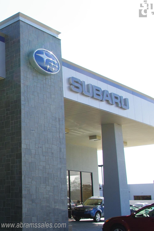 Rainscreen Gainesville Subaru Metal Wall Panel Wall Panel System Alucobond