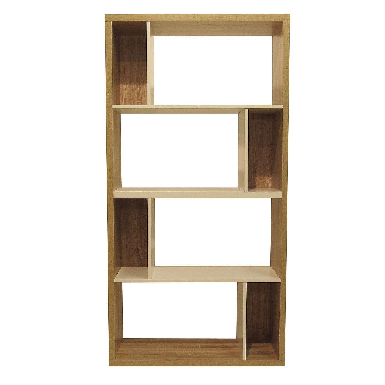 lewis 8 shelf wide bookcase dunelm house stuff pinterest