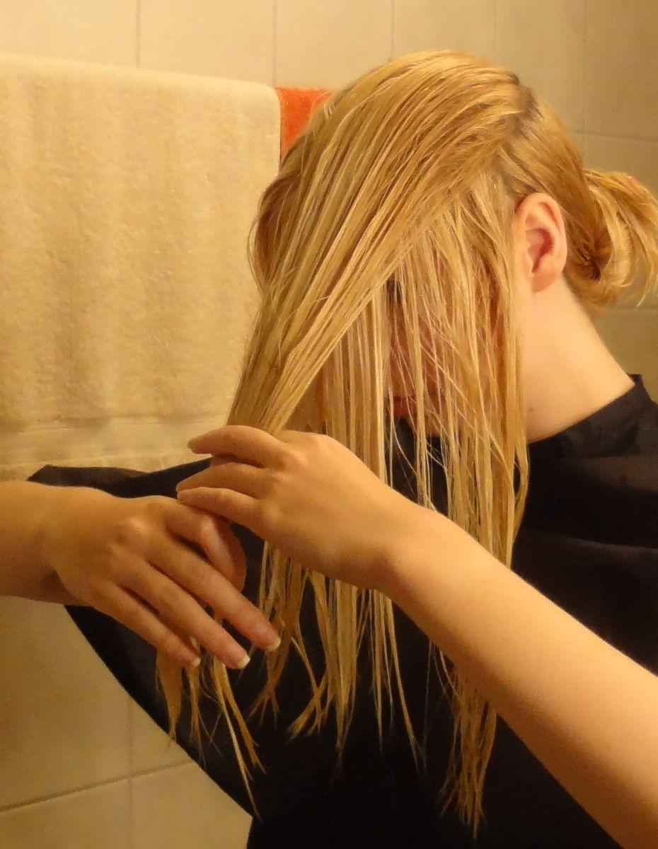 Do it yourself Stufenschnitt fr lange Haare 6   haare