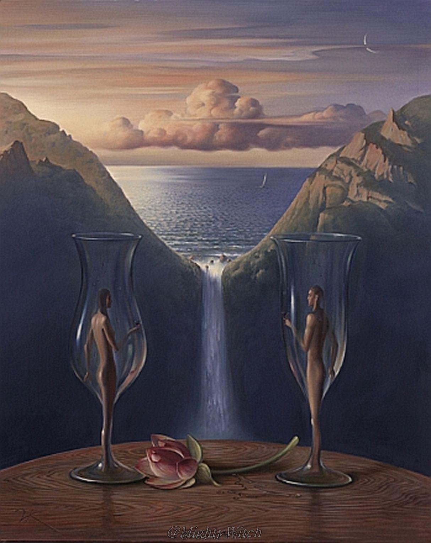 ' Time Vladimir Kush Surrealism Art And