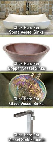 How To Install A Vessel Sink - Above Counter or Recessed ...