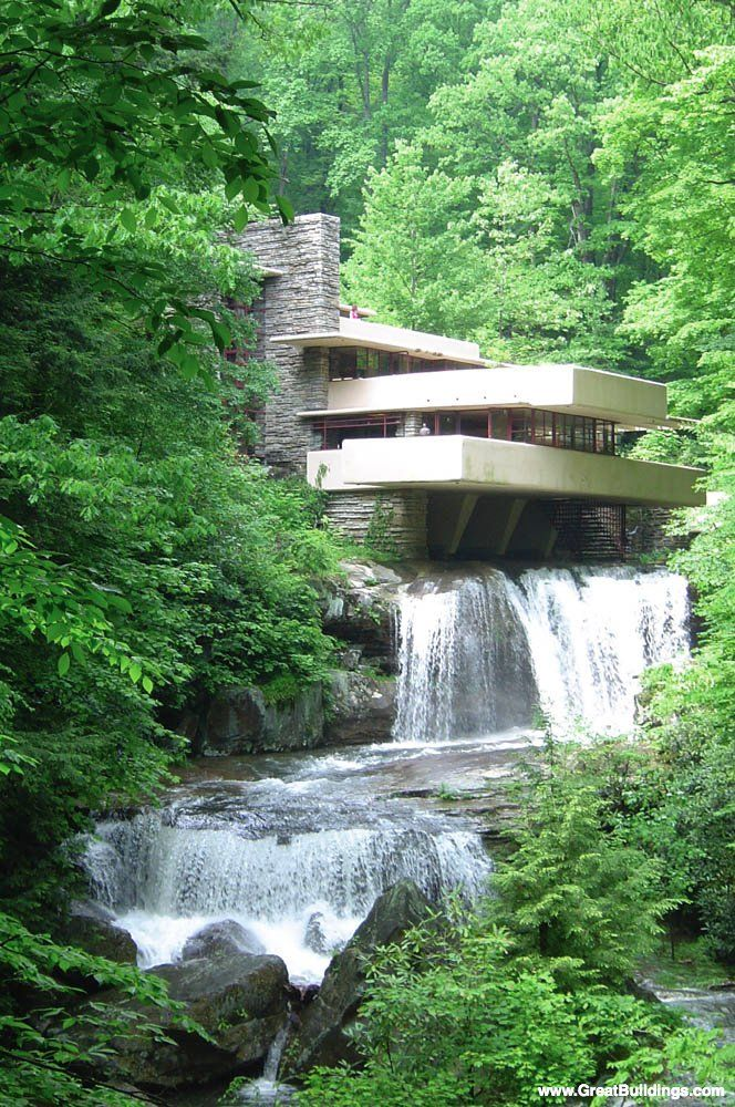 Falling Water - always a favorite! FLW was a genius!