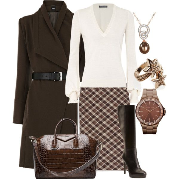 """""""Fall Outfit"""" by kzipp on Polyvore, would need to be grey for work tho"""