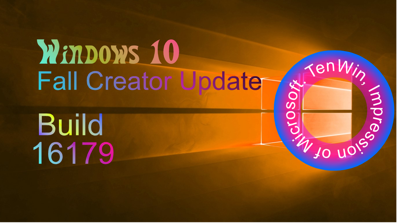 Windows 10 Build 16179 was 3rd Insider Preview Build of
