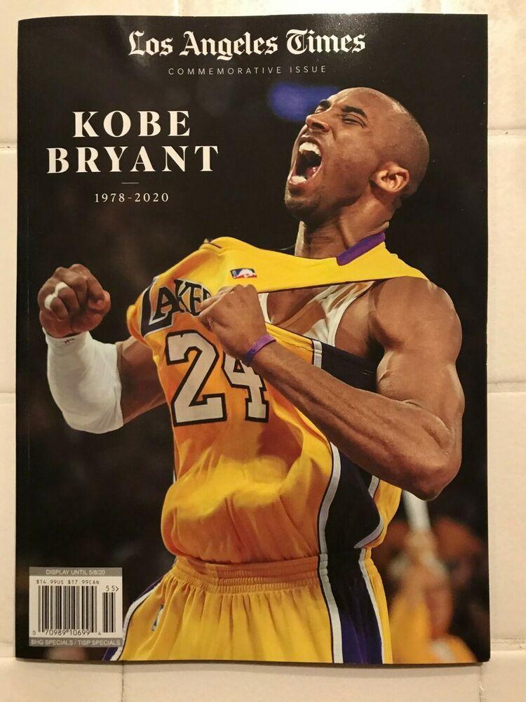 Details about LA Times Kobe Bryant Commemorative Edition