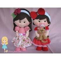 Bonecas Personalizadas Em Feltro