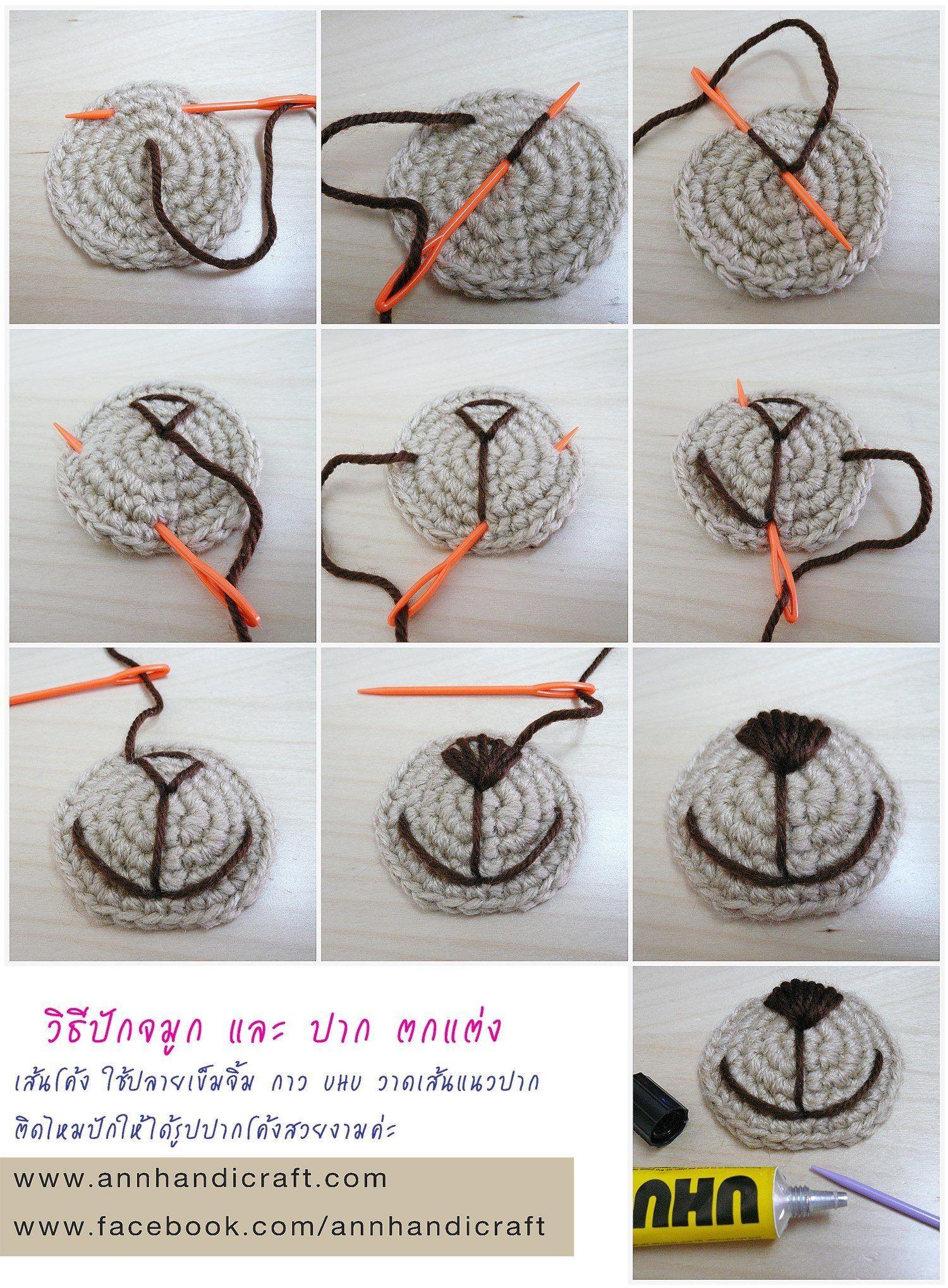 Snuitje maken | Crochet Toys | Pinterest | Patrones amigurumi ...