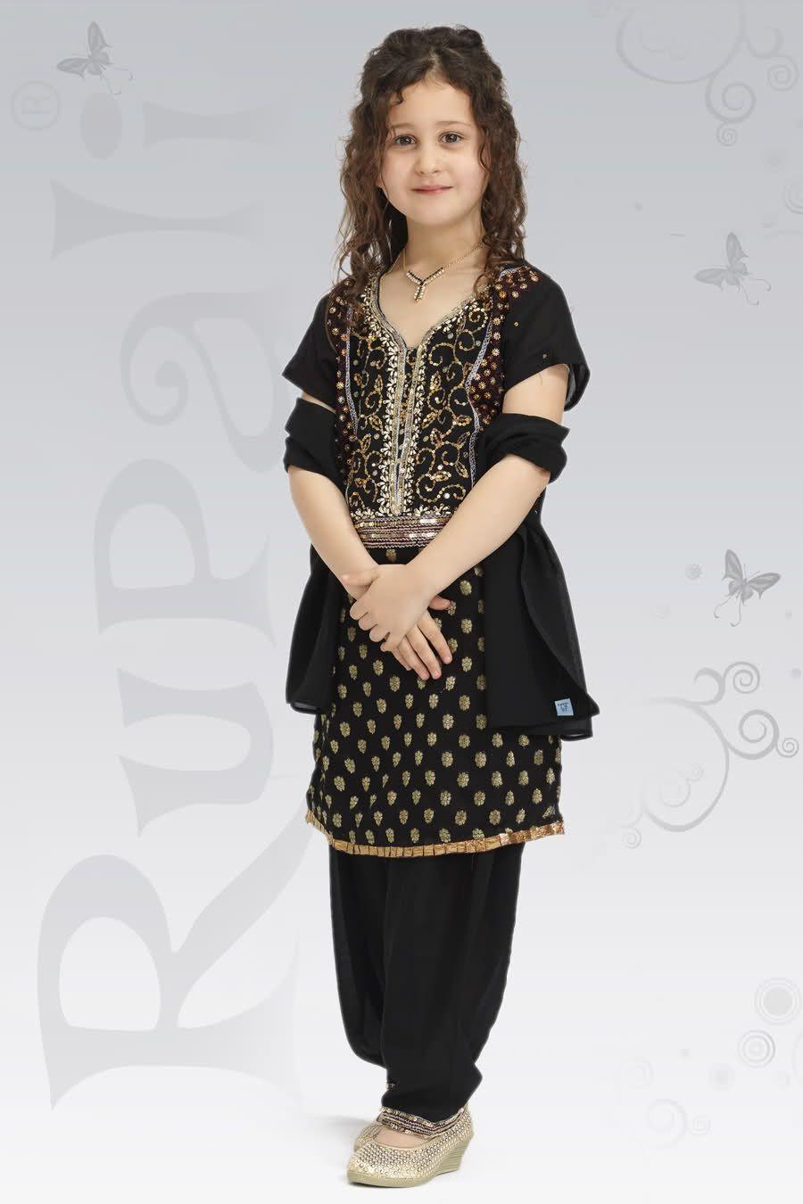 Eid kids kurta shalwar kameez designs 2013 2014 - Latest Eden Robe 2014 Kids Wear Collection
