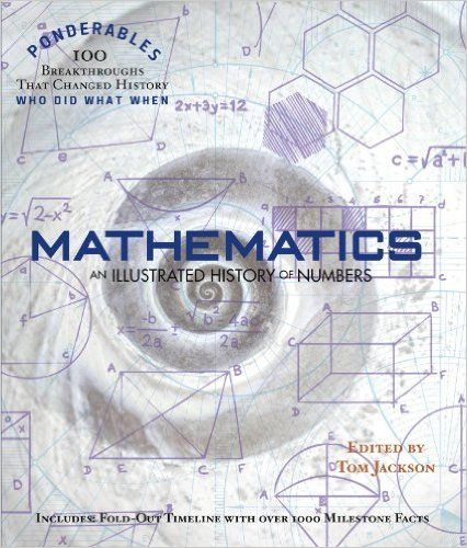 Mathematics An Illustrated History of Numbers (100 Ponderables) Tom - copy interactive world map amazon