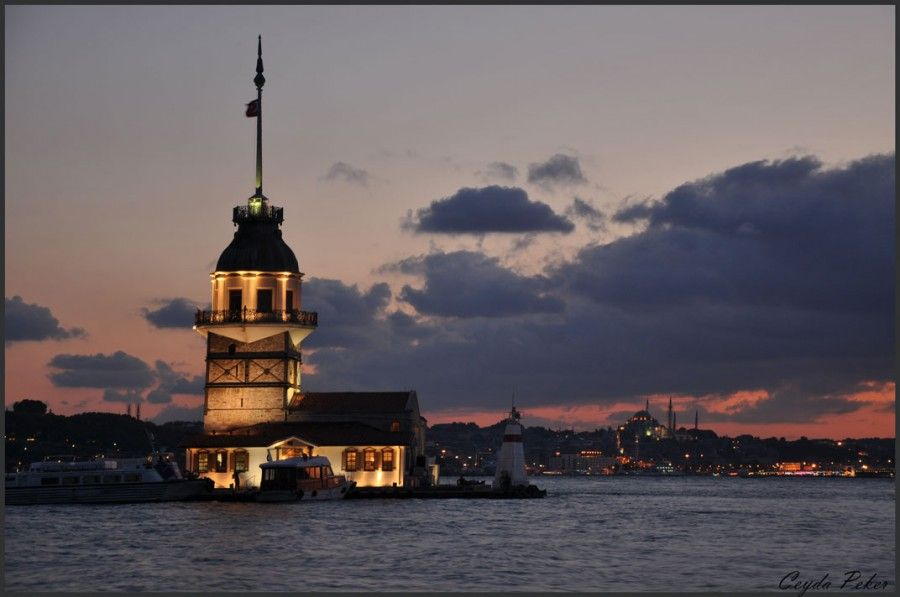 Sunset In Salacak Istanbul Turkey Istanbul Fotograf Manzara