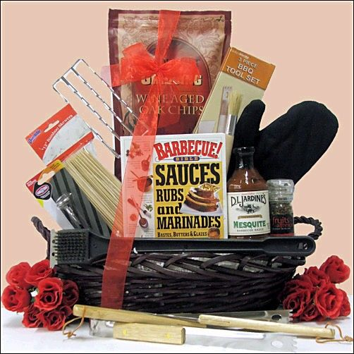 Grillin' & Chillin' Gourmet BBQ Gift Basket- For the person who ...