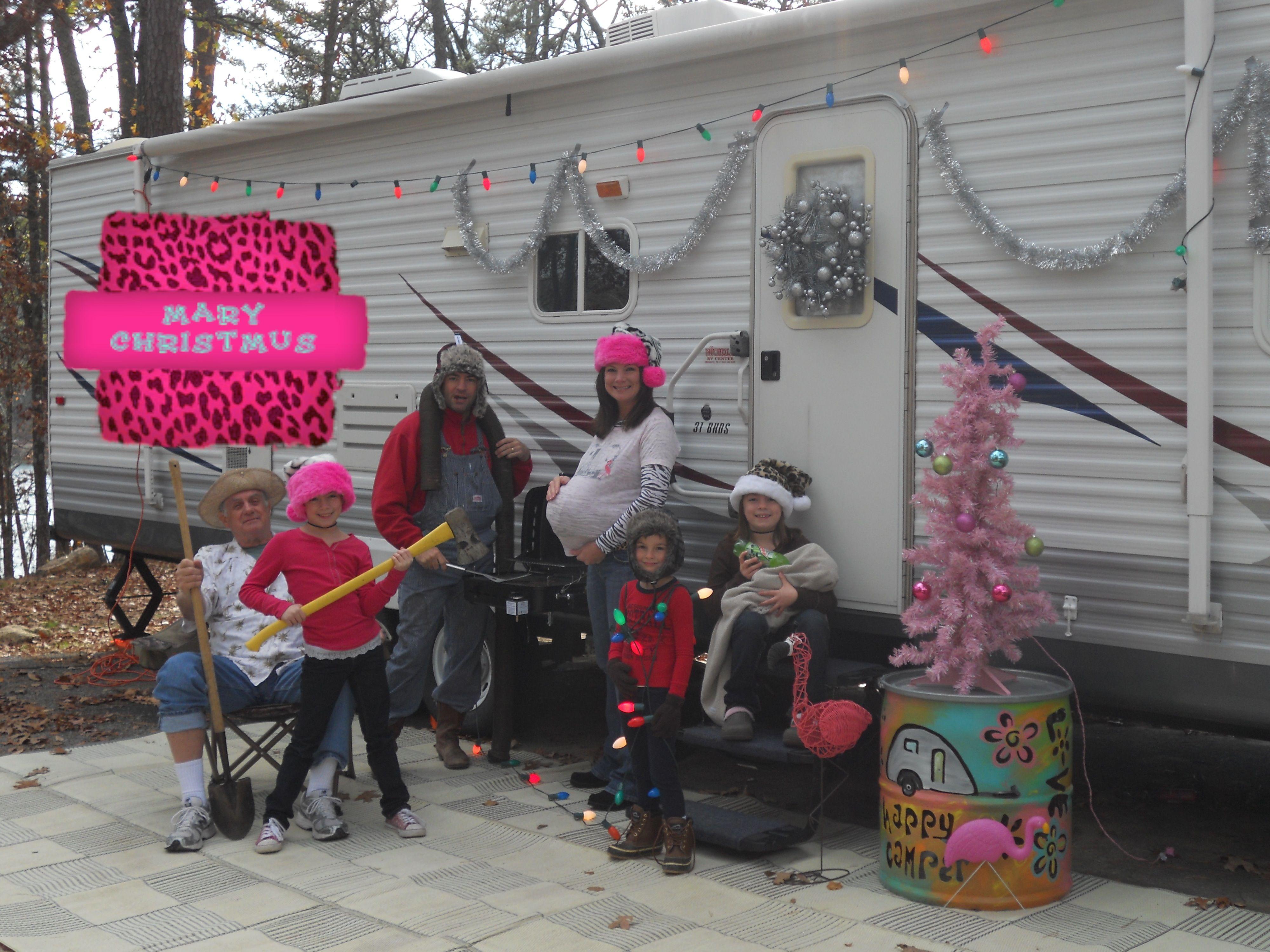 Redneck rv trailer christmas card ideas pinterest for Redneck bedroom ideas