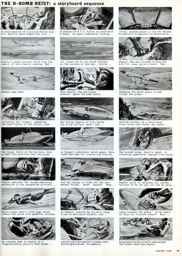 Awesome Storyboards from 15 of Your Favorite Films movie
