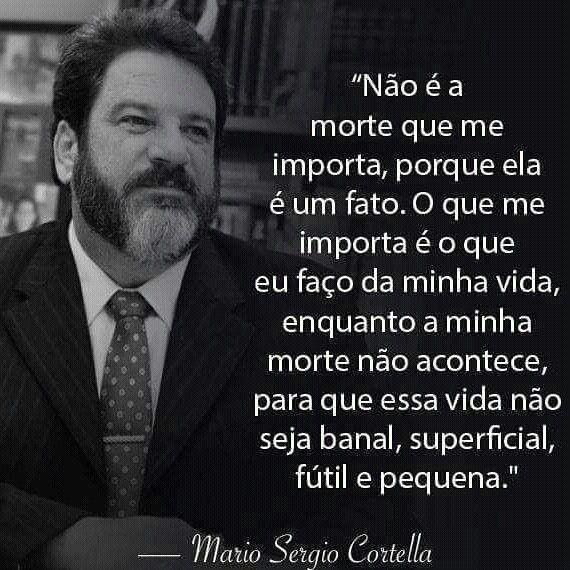 Mario Sergio Cortella é Um Filósofo Escritor Educador Palestrante