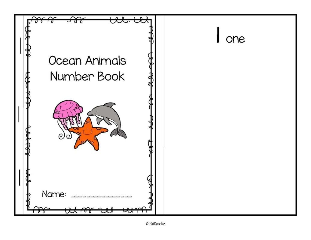 Oceans Animals Theme Activities And Printables For