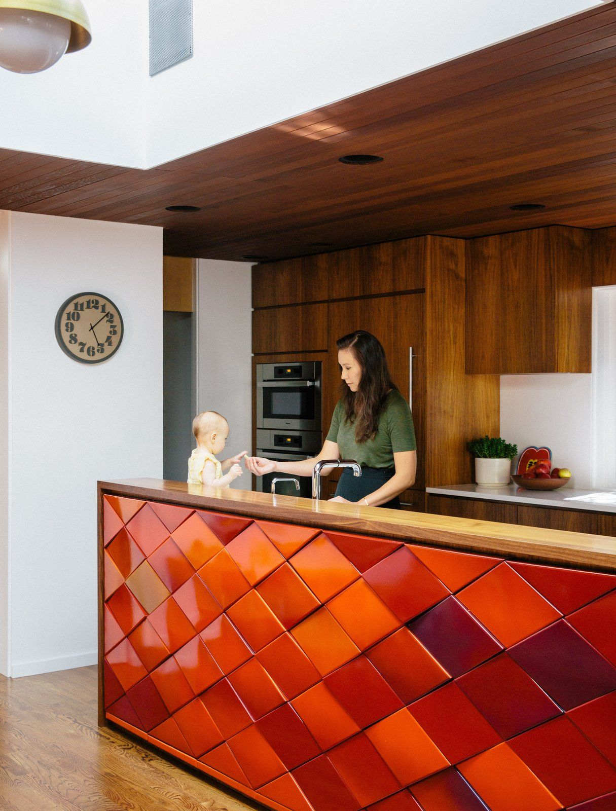 Wood paneling loses its dated reputation with this renovation of a