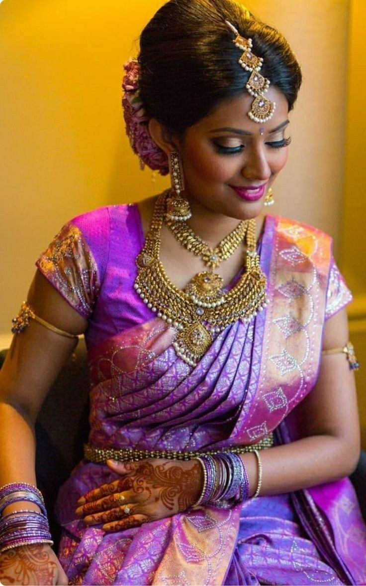 Dark skin is beautiful! Indian bridal, South indian