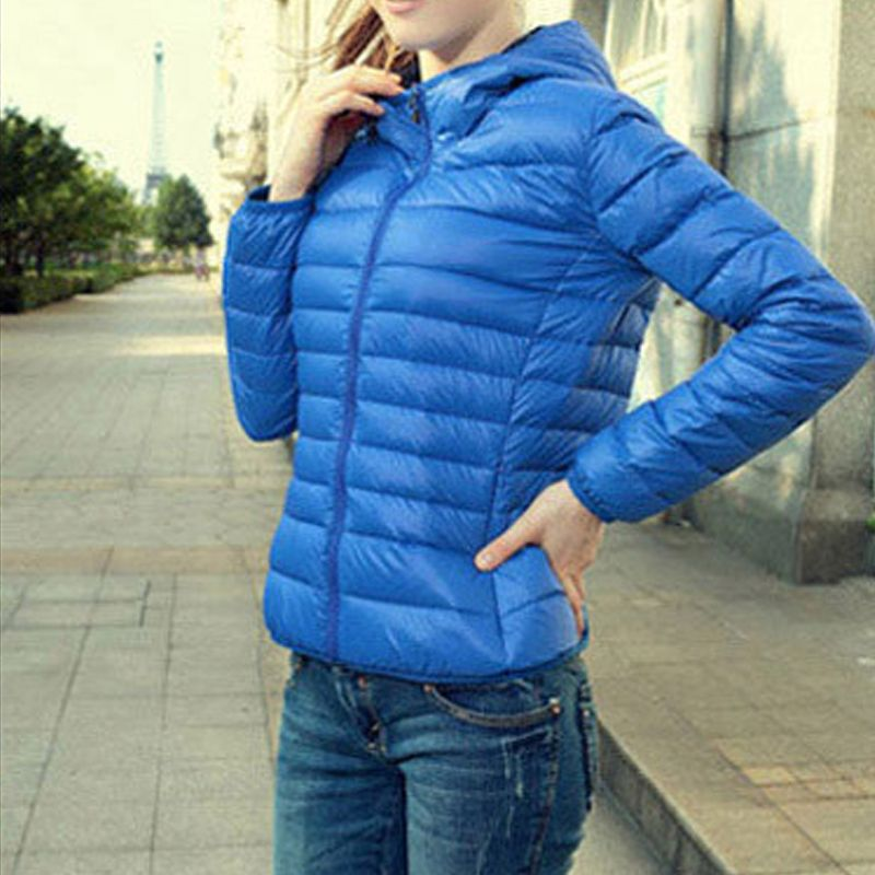 Hot-Winter-Warm-Women-Slim-Down-Cotton-Sport-Collar-Hooded-Coat-Jacket-Parka