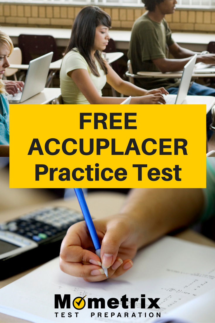 Your success on ACCUPLACER test day depends not only on
