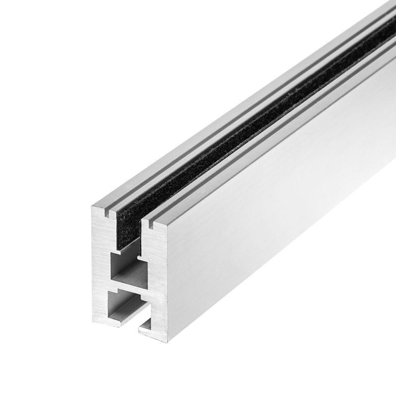 Aluminum Led Channel For 6mm Glass Klus Ex Alu Series Led Strip Lighting Edge Lighting Strip Lighting