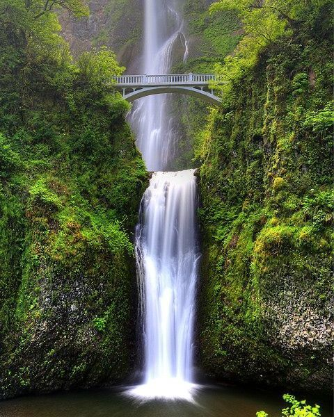 Good Places To Travel To In Florida: Multnomah Falls OR My Heart Is Breaking Watching As The