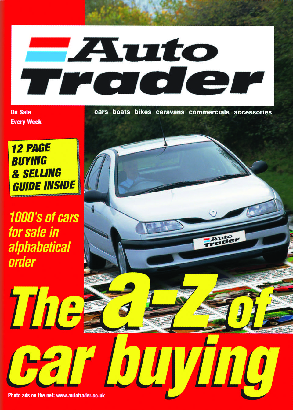 The A-Z of car buying from January 2001 | Auto Trader Heritage ...