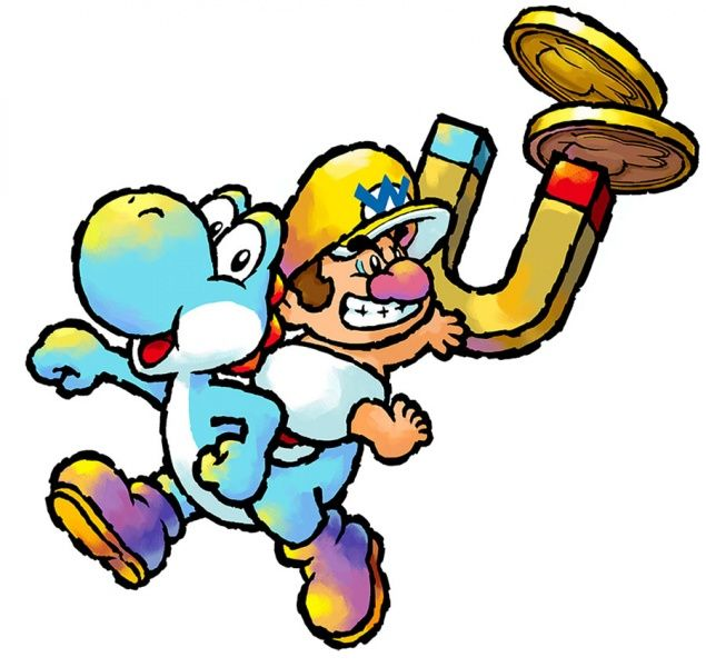 Yoshi and baby wario super mario pinterest yoshi mario bros light blue yoshi and baby wario yoshis island ds sciox Image collections