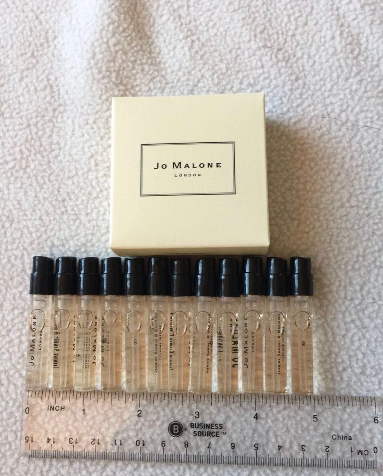 Jo Malone Set Of 14 Sample Sprays Each Vial 1 5ml 05oz 100 Authentic All Included In The Box 1 Ja Peony Blush Suede Blossom Perfume Jo Malone