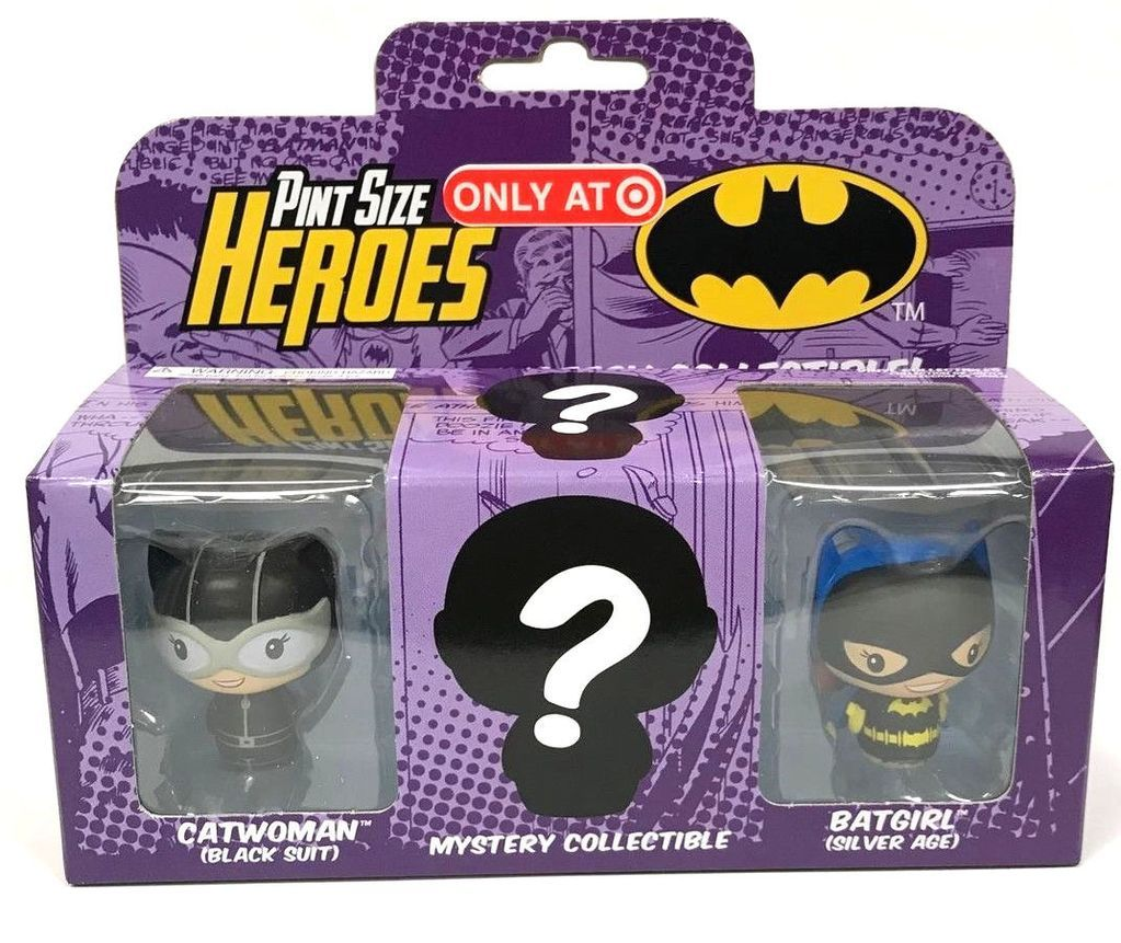 Funko Pint Size Heroes DC Comics Catwoman 3 Pack Mystery