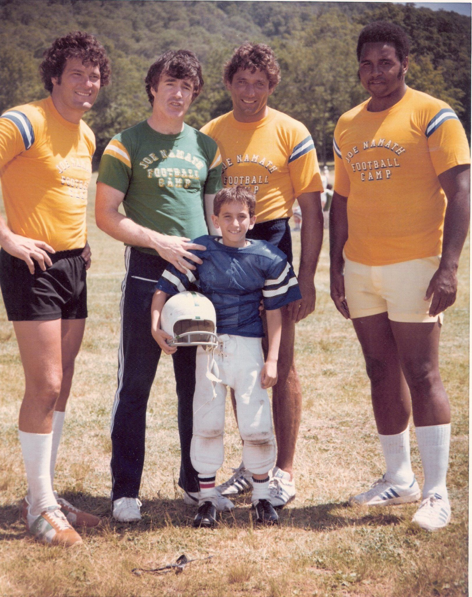 Joe, John Dockery, Winston Hill at Camp! | Joe Namath | Pinterest ...