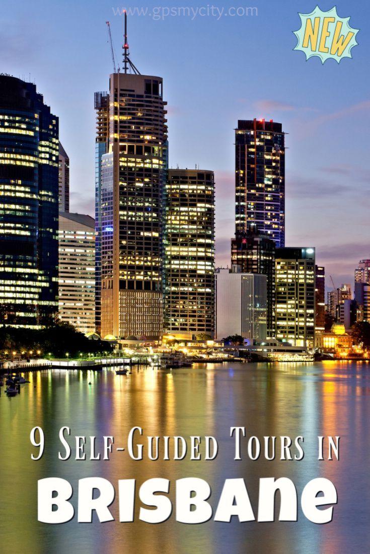 Self Guided Walking Tours In Brisbane Australia Follow